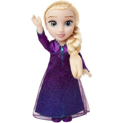 Frozen 2 Into the Unknown Elsa Doll