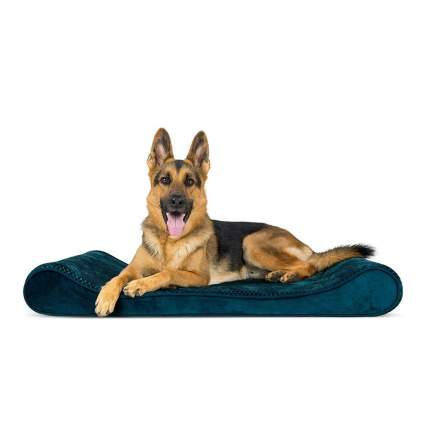 Furhaven Orthopedic Foam Cradle Dog Bed