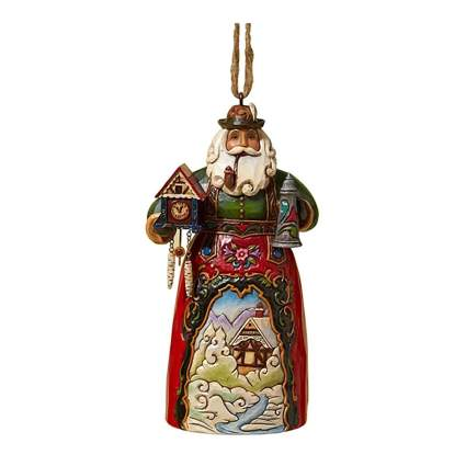 german santa ornament