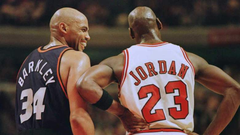 Charles Barkley Michael Jordan Team USA