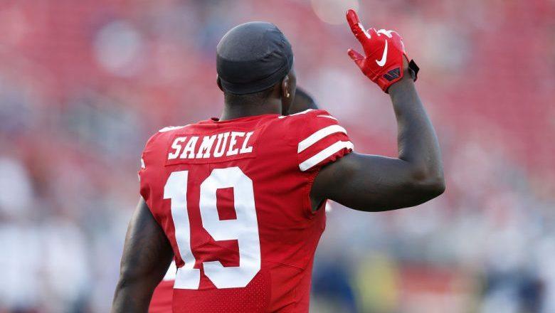 Deebo Samuel of the San Francisco 49ers