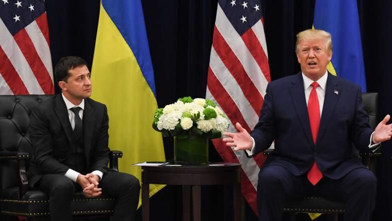trump Ukrainian president zelensky
