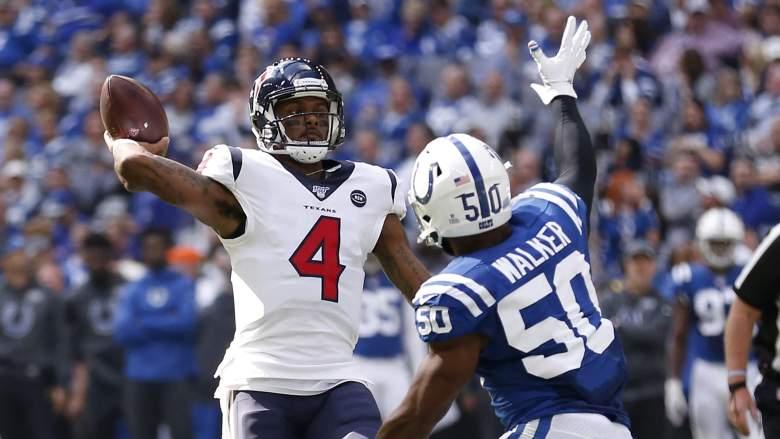 Texans vs. Colts