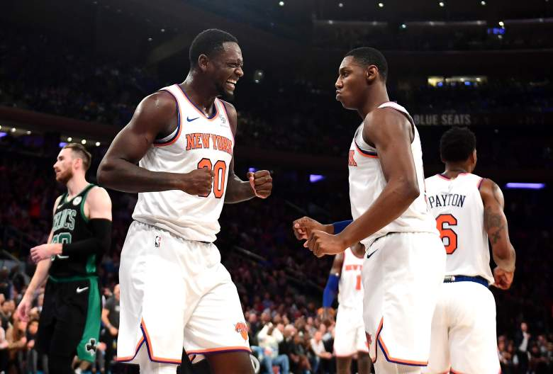 Knicks' Julius Randle, Mitchell Robinson Get Support From Popular Instagram Account | Heavy.com
