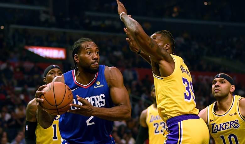 Kawhi Leonard, Clippers; Dwight Howard, Lakers