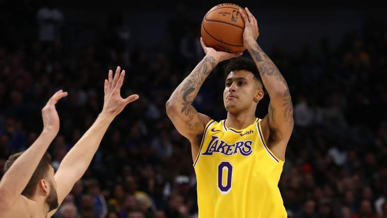 Kyle Kuzma Lakers Kings
