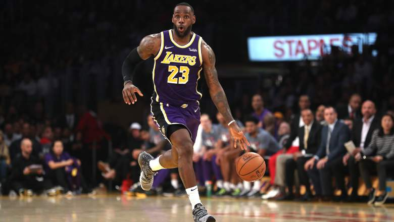 Lebron James, Los Angeles Lakers,