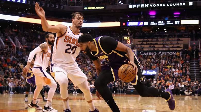Anthony Davis Lakers Suns