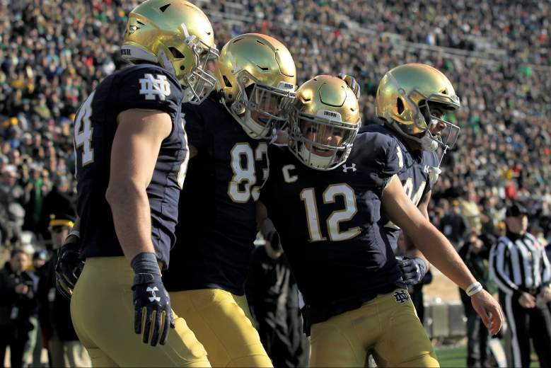notre dame boston college betting spread
