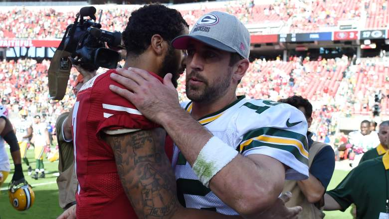 Colin Kaepernick Aaron Rodgers Comments