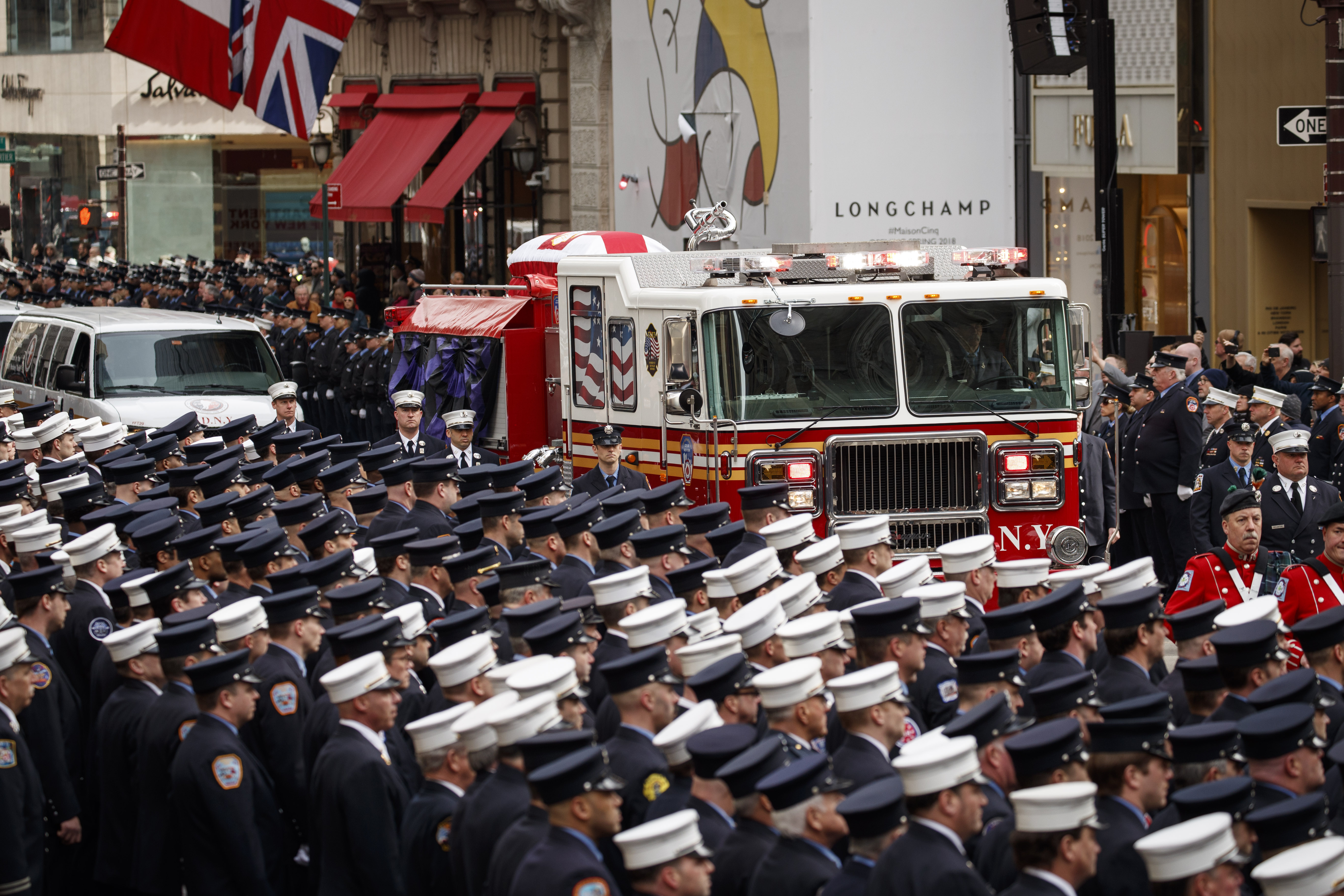 Michael Davidson funeral