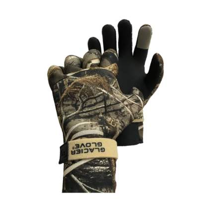 Glacier Glove Pro Waterfowler Waterproof Neoprene Gloves