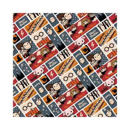 Graphics & More Chibi Harry Potter Wrapping Paper