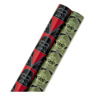 Hallmark Star Wars Holiday Wrapping Paper