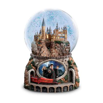 harry potter musical glitter globe