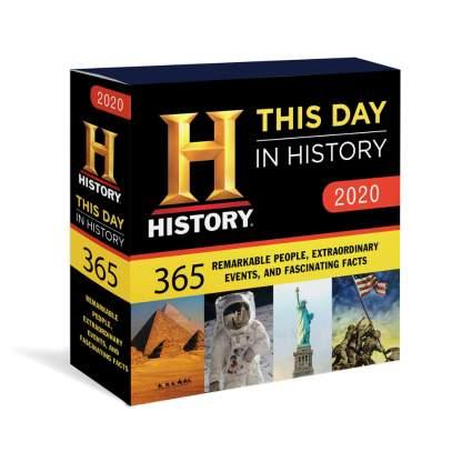 history daily calendar