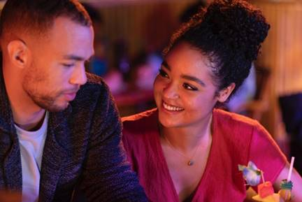 Ghosting: The Spirit of Christmas starring Aisha Dee