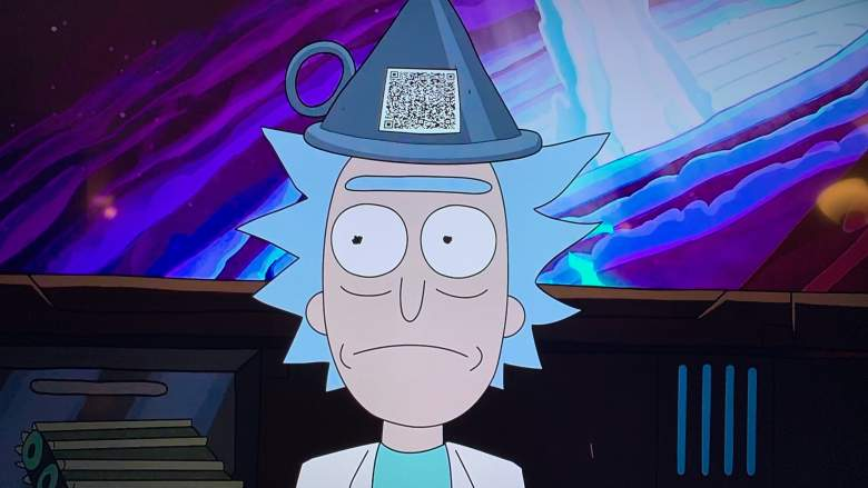 Rick and Morty funnel hat