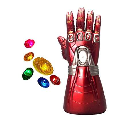 Iron Man Infinity Gauntlet with Removable LED Magnetic Infinity Stones