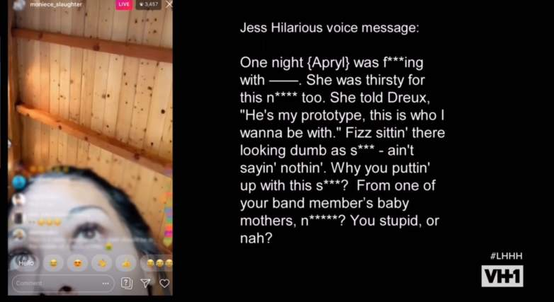 Jess Hilarious spills on Apryl