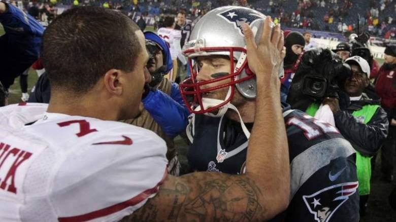 Colin Kaepernick, Tom Brady