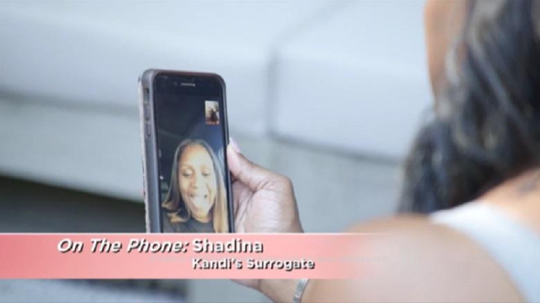 Kandi Burruss Surrogate Shadina