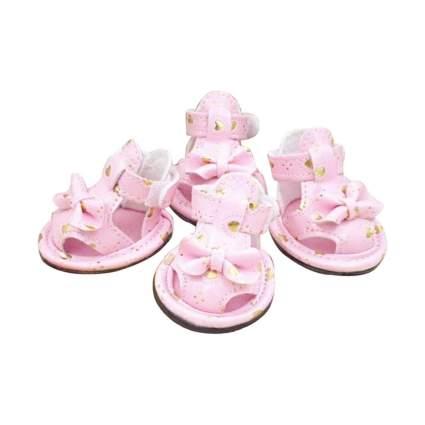 KBL Pink Heart Dog Sandals