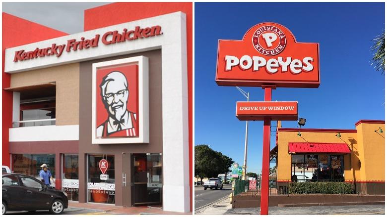 KFC, Popeyes