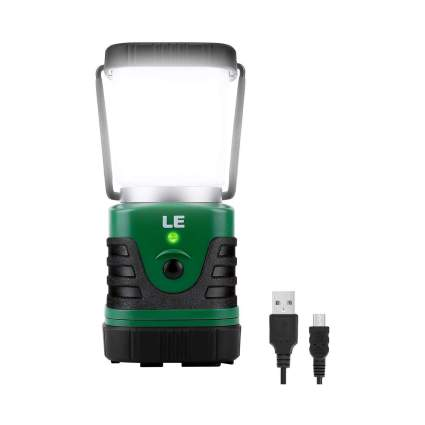 LE Rechargeable LED Camping Lantern with 4400mAh Power Bank