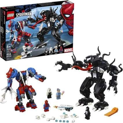 Spider-Mech vs Venom
