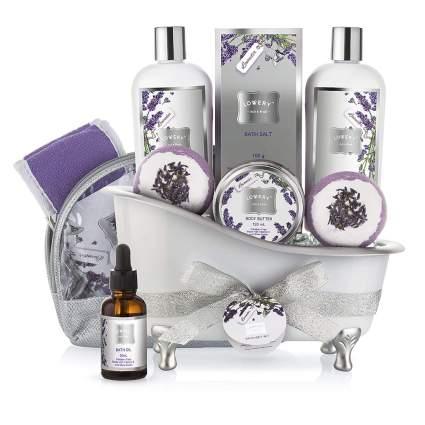 lavender bath gift set