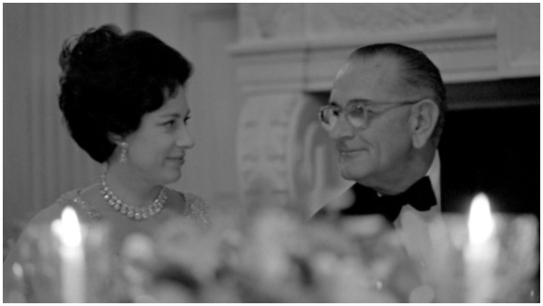 lyndon johnson princess margaret