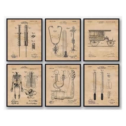 medical patent prints