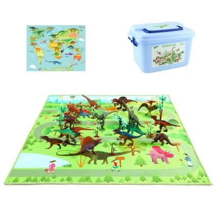 MEIGO Dinosaur Toys Play Mat