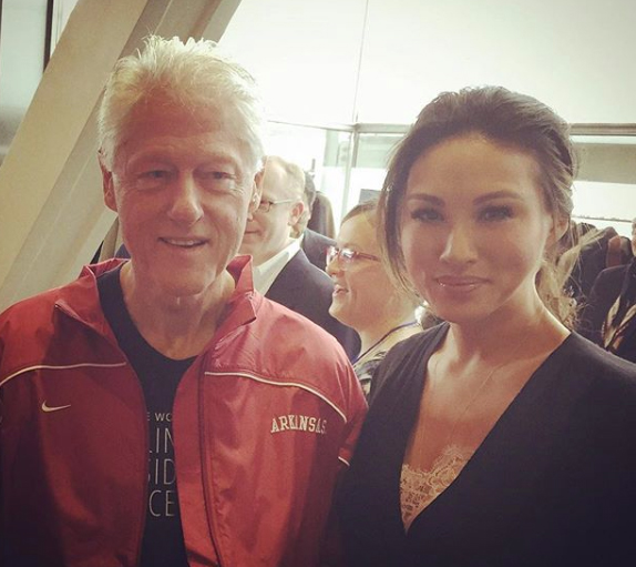 Mina Chang Bill Clinton