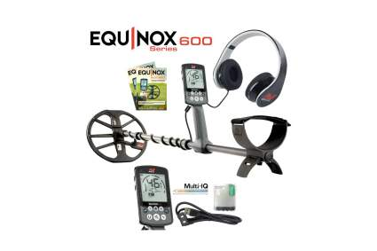 Minelab Equinox 600 Waterproof Metal Detector with 11-Inch Coil