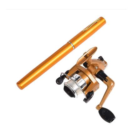AINAAN mini portable pocket pen fishing rod