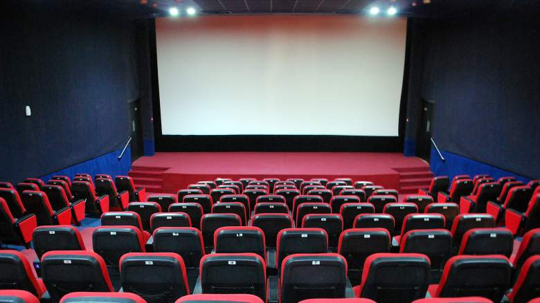 A generic movie theater with seating