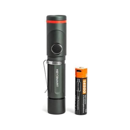 KeySmart Nano Torch Twist - Swivel Head LED Flashlight