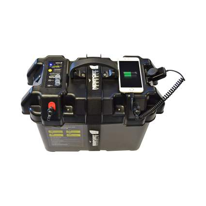 Newport Vessels Trolling Motor Smart Battery Box Power Center