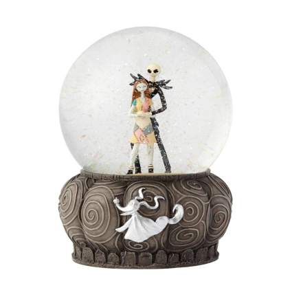 nightmare before christmas snow globe