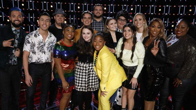 The Voice Season 17 Top 13