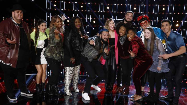 The Voice season 17 Top 11