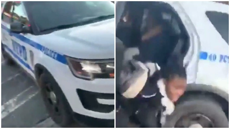 Teen Girl Helps Friend Escape From NYPD Vehicle
