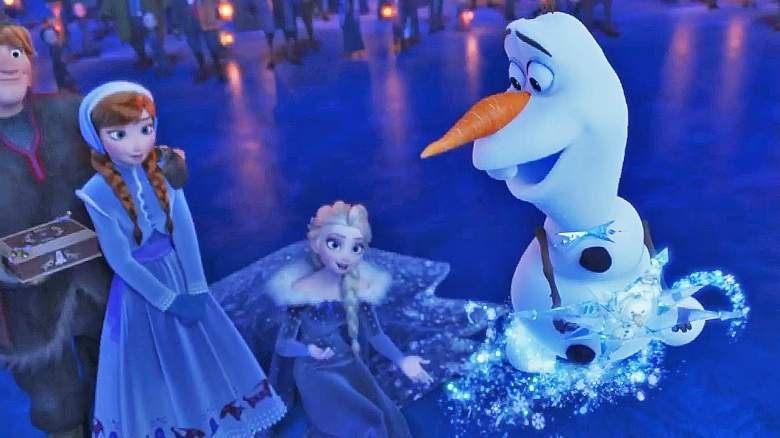 stream olaf's frozen adventure