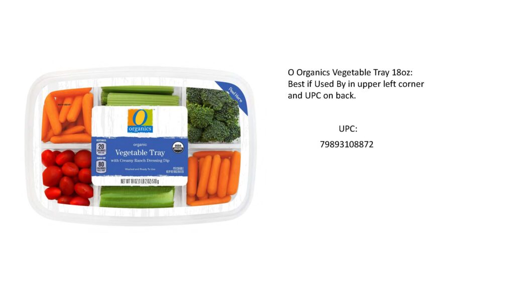 veggie recall