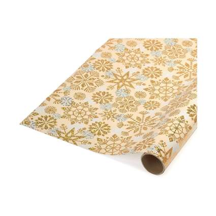 Papyrus Snowflake Holiday Foil Wrapping Paper