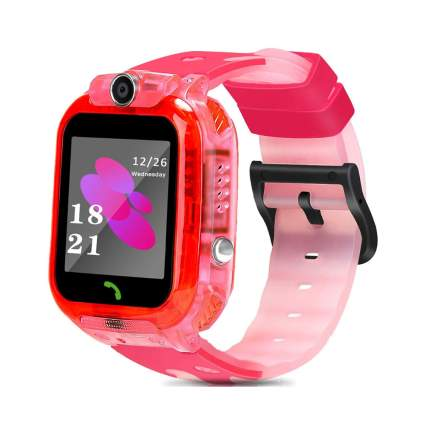 pink kids smartwatch