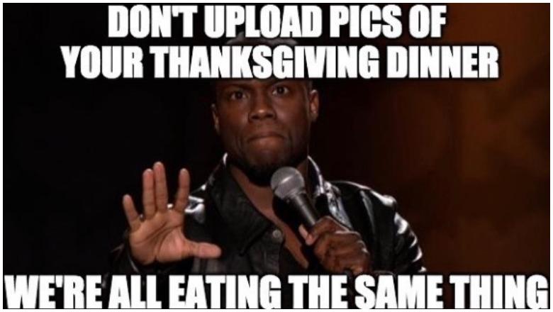 Thanksgiving memes 2019