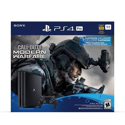 PlayStation 4 Pro 1TB Call of Duty: Modern Warfare Bundle